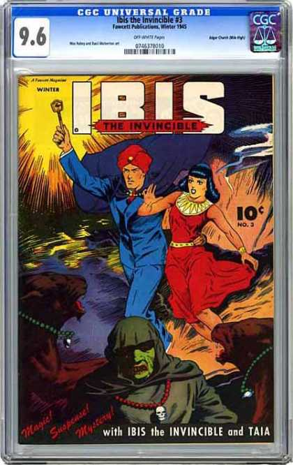 CGC Graded Comics - Ibis the Invincible #3 (CGC)