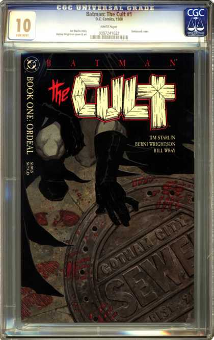 CGC Graded Comics - Batman: The Cult #1 (CGC)