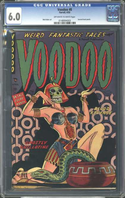 CGC Graded Comics - Voodoo #8 (CGC)