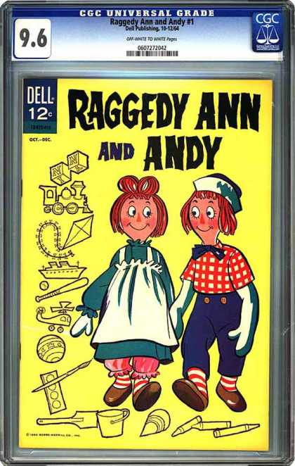 CGC Graded Comics - Raggedy Ann and Andy #1 (CGC)
