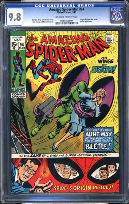 CGC Graded Comics - Amazing Spider-Man #94 (CGC)