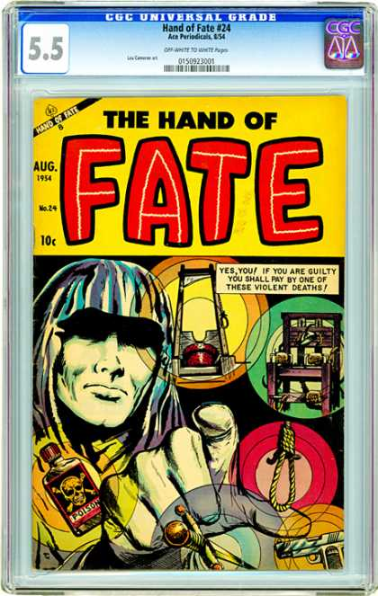 CGC Graded Comics - Hand of Fate #24 (CGC)