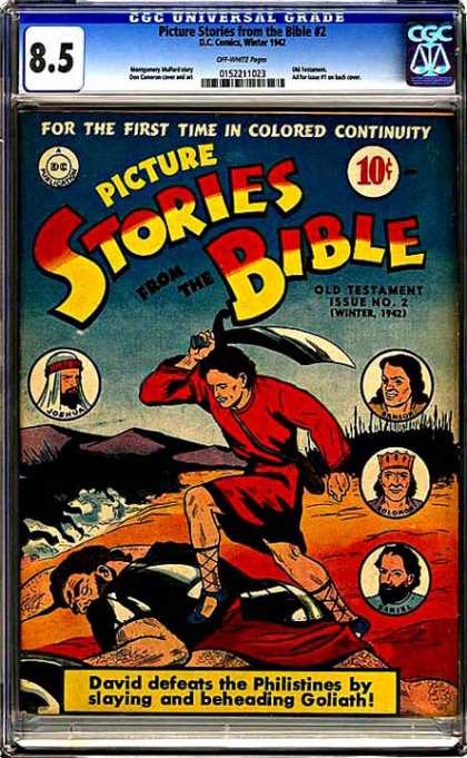CGC Graded Comics - Picture Stories from the Bible #2 (CGC)