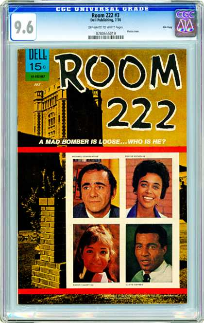 CGC Graded Comics - Room 222 #3 (CGC) - Pictures - Dell - Publishing - Room - Bomber