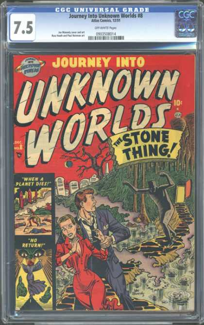 CGC Graded Comics - Journey Into Unknown Worlds #8 (CGC)