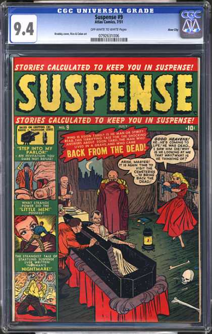 CGC Graded Comics - Suspense #9 (CGC)
