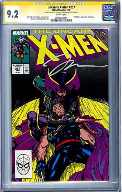 CGC Graded Comics - Uncanny X-Men #257 (CGC)