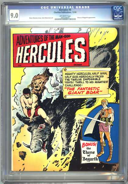 CGC Graded Comics - Hercules #8 (CGC)