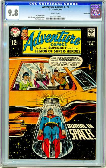 CGC Graded Comics - Adventure Comics #379 (CGC)