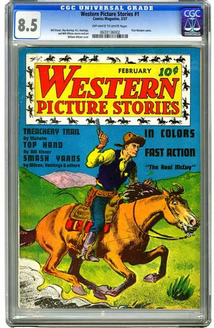 CGC Graded Comics - Western Picture Stories #1 (CGC)