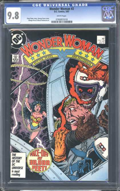 CGC Graded Comics - Wonder Woman #2 (CGC)
