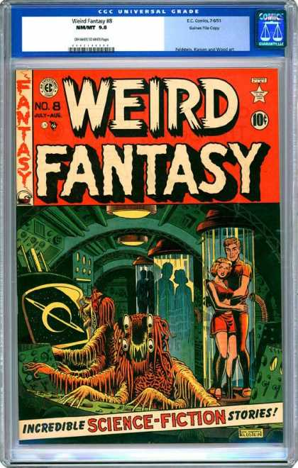 CGC Graded Comics - Weird Fantasy #8 (CGC)