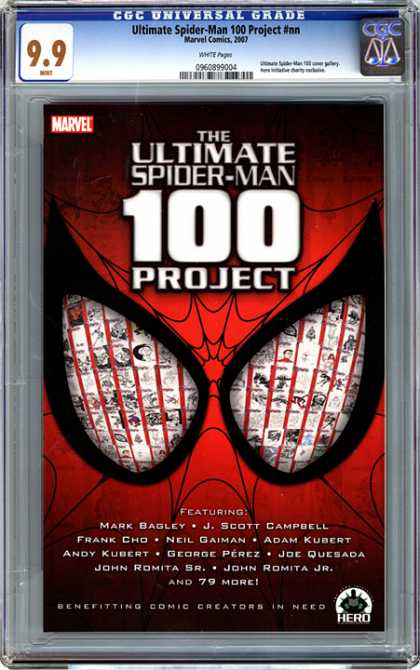 CGC Graded Comics - Ultimate Spider-Man 100 Project #nn (CGC)
