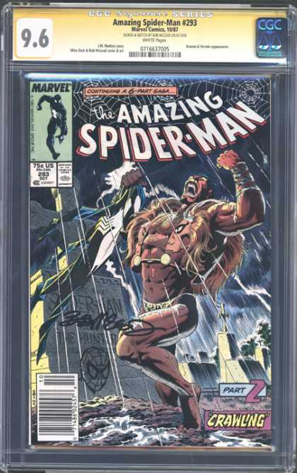 CGC Graded Comics - Amazing Spider-Man #293 (CGC)