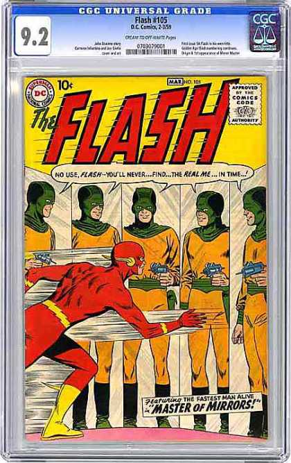 CGC Graded Comics - Flash #105 (CGC)