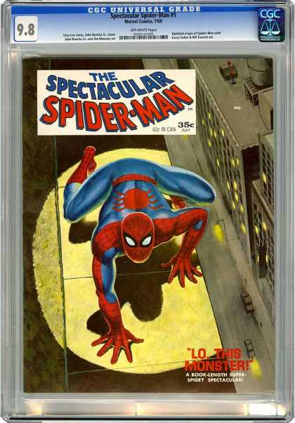 CGC Graded Comics - Spectacular Spider-Man #1 (CGC)