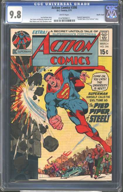 CGC Graded Comics - Action Comics #398 (CGC)