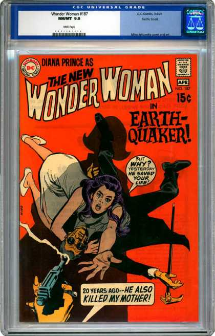 CGC Graded Comics - Wonder Woman #187 (CGC)