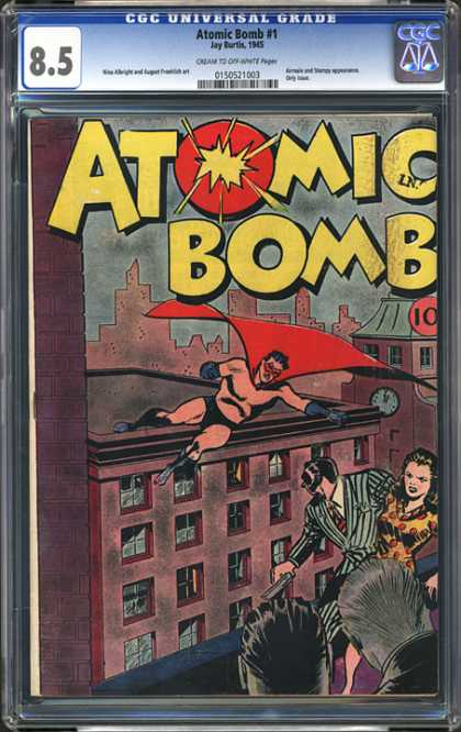 CGC Graded Comics - Atomic Bomb #1 (CGC)