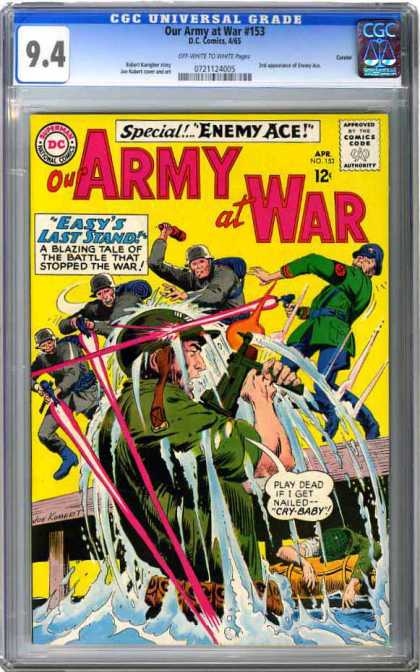 CGC Graded Comics - Our Army at War #153 (CGC)