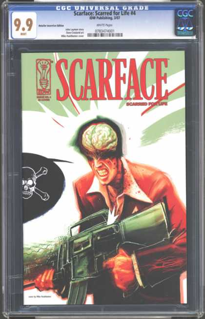 CGC Graded Comics - Scarface: Scarred for Life #4 (CGC)
