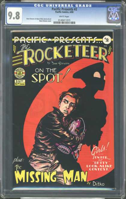 CGC Graded Comics - Pacific Presents #2 (CGC)