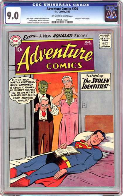 CGC Graded Comics - Adventure Comics #270 (CGC)