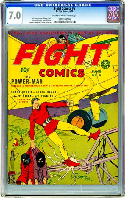 CGC Graded Comics - Fight Comics #6 (CGC)