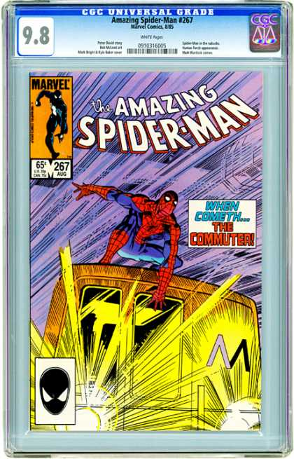 CGC Graded Comics - Amazing Spider-Man #267 (CGC)