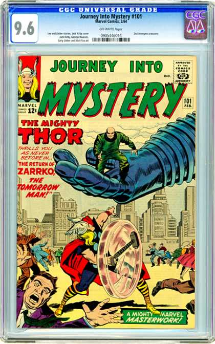 CGC Graded Comics - Journey Into Mystery #101 (CGC)