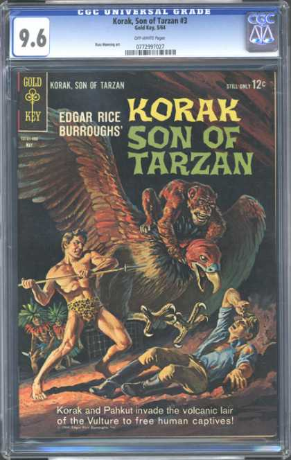 CGC Graded Comics - Korak, Son of Tarzan #3 (CGC)
