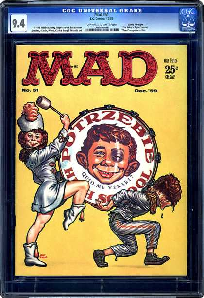 CGC Graded Comics - Mad #51 (CGC)