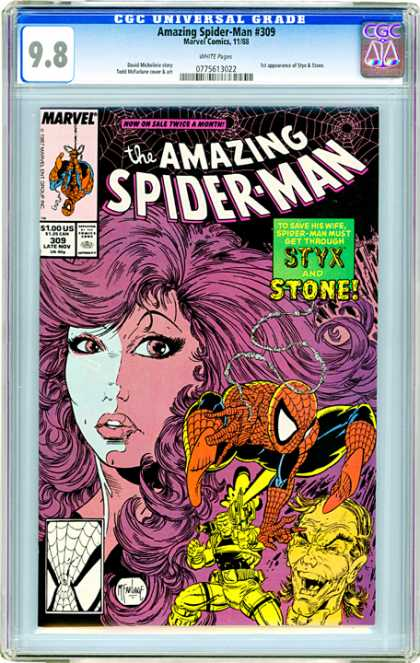 CGC Graded Comics - Amazing Spider-Man #309 (CGC)