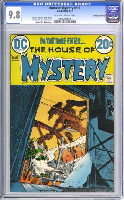 CGC Graded Comics - House of Mystery #212 (CGC)