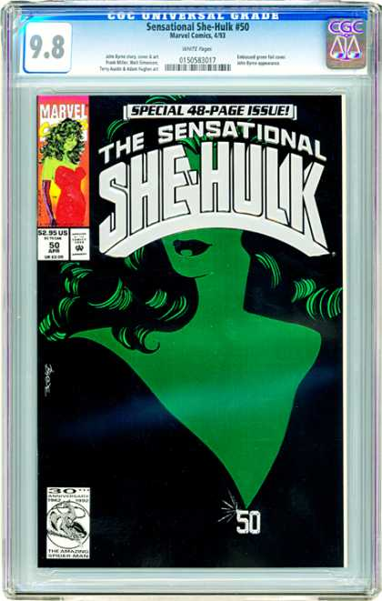 CGC Graded Comics - Sensational She-Hulk #50 (CGC)