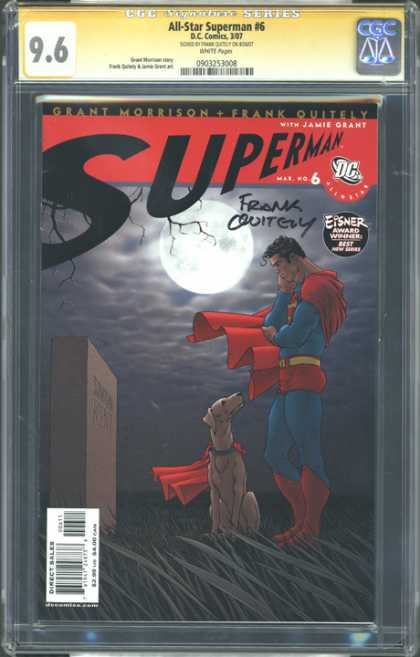 CGC Graded Comics - All-Star Superman #6 (CGC)
