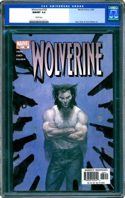 CGC Graded Comics - Wolverine #182 (CGC)