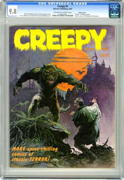 CGC Graded Comics - Creepy #4 (CGC)
