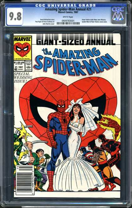 CGC Graded Comics - Amazing Spider-Man Annual #21 (CGC)