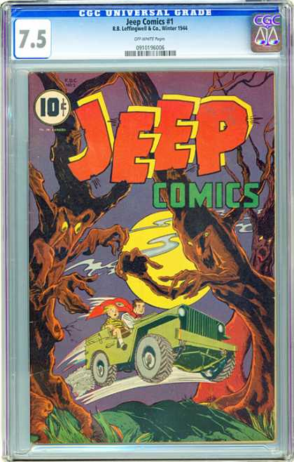 CGC Graded Comics - Jeep Comics #1 (CGC)