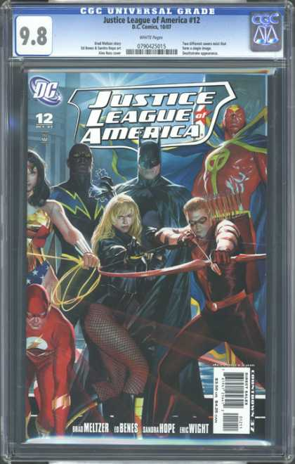 CGC Graded Comics - Justice League of America #12 (CGC) - Justice League - Batman - Wonderwoman - Robin - Super Heros