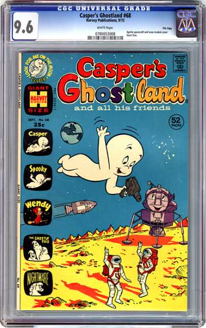 CGC Graded Comics - Casper's Ghostland #68 (CGC)