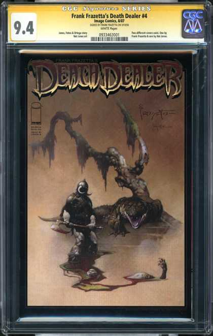 CGC Graded Comics - Frank Frazetta's Death Dealer #4 (CGC) - Death Dealer - 4 - Frank Frazetta - 94 - Monster