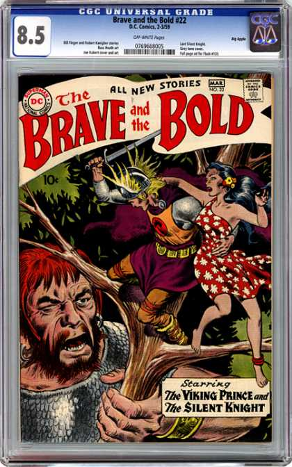 CGC Graded Comics - Brave and the Bold #22 (CGC)