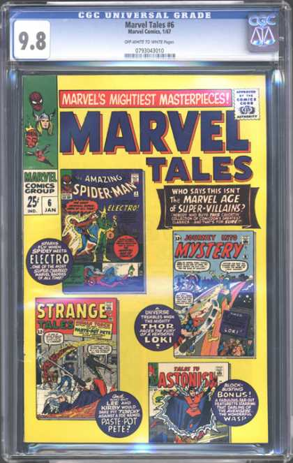 CGC Graded Comics - Marvel Tales #6 (CGC)