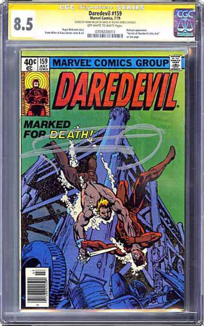 CGC Graded Comics - Daredevil #159 (CGC)