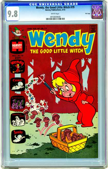 CGC Graded Comics - Wendy, the Good Little Witch #79 (CGC)