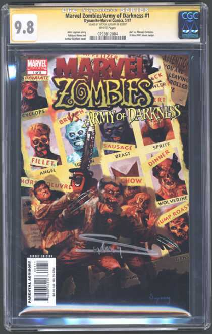 CGC Graded Comics - Marvel Zombies/Army of Darkness #1 (CGC)