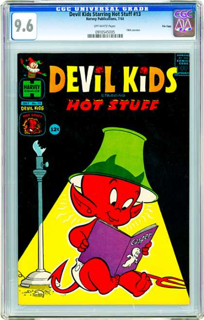 CGC Graded Comics - Devil Kids Starring Hot Stuff #13 (CGC)