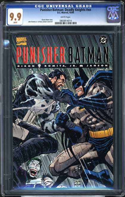 CGC Graded Comics - Punisher/Batman: Deadly Knights #nn (CGC)